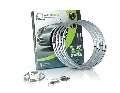 Set of 4 AlloyGator Wheel Protectors (SILVER)