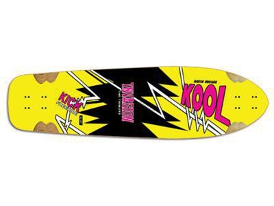 Jet Kool Kick The Tribute Longboard Deck 10.2 x 38.0 inch - Cruiser Deck Skateboard - Kool Deck