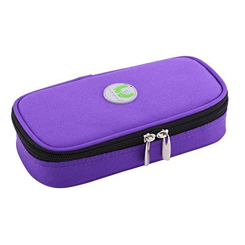 Zerodis - Estuche de Viaje para refrigerador de insulina portátil, Organizador diabético,...