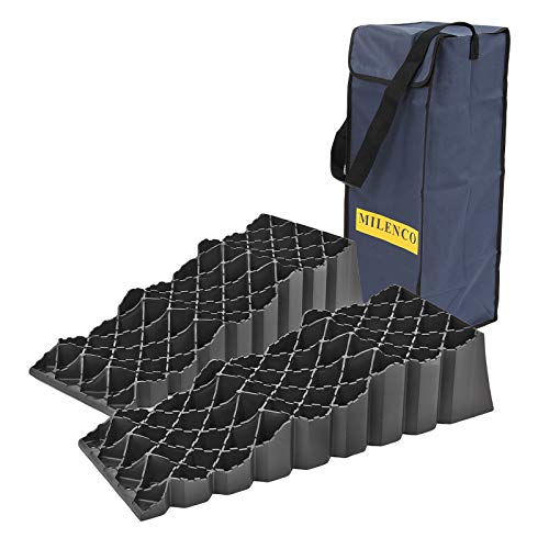 Preisvergleich Produktbild Milenco Triple 2 Stufenkeile 2er Set inkl. Tragetasche & Kreuzwasserwaage