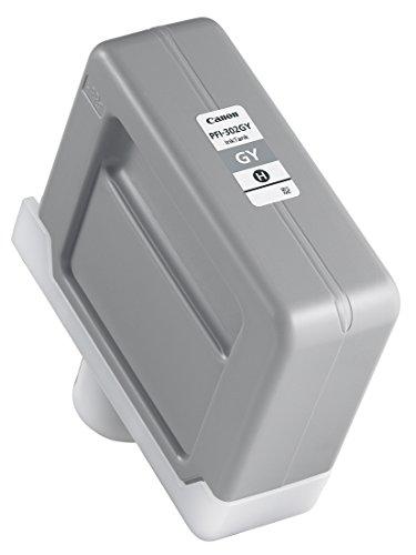 Preisvergleich Produktbild Canon 2217B001 PFI-302GY Tintenpatrone grau Standardkapazität 330ml 1er-Pack