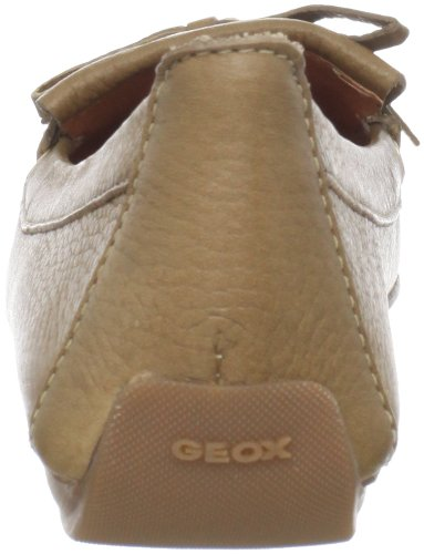 Geox Donna Italy D22M7C00046 Damen Mokassins Braun (lt brown C6002)