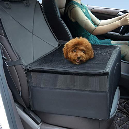 er Auto Booster Sitzbezug Einzelsitz, Klapp Sicherheit Atmungsaktive Sitzbezug Reisetasche Kleine Welpen (Color : D) ()