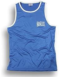Benlee Rocky Marciano Amateur - Pantalones de boxeo para hombre, color azul, talla L