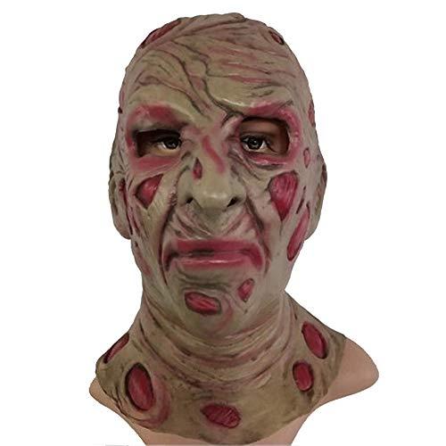 Erwachsene Ghost Zombie Gesicht Für Kostüm - FWwD Halloween Maske, cos Film Halloween Horror Biochemie Zombie Gesicht Ghost Maske Zombie Leiche Holly Party Kostümball Parodie