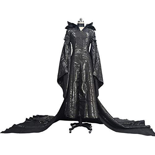 Kostüm Für Erwachsene Maleficent'deluxe - WSJDE Erwachsene Deluxe Maleficent Kostüm Evil Queen Cosplay Outfit Damen Kostüm Frauen Halloween Party Cosplay Kostüm XXXL Kostüm