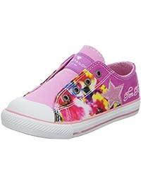 TOM TAILOR 9673902 - Zapatos de cordones de Lona para niña Multicolor rosa