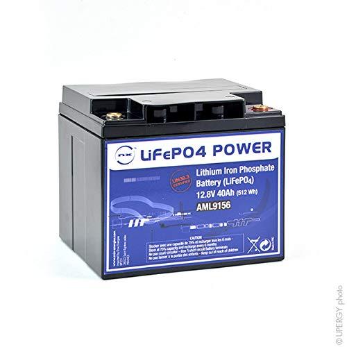 NX - Batteria Litio Ferro Fosfato UN38.3 (512Wh) 12V 40Ah M6-F