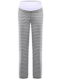Nitis Umstandsmode Nightwear Pyjama Umstands-Loungehose Damen Hose