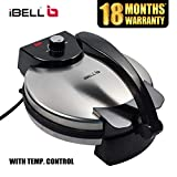iBELL RM150 1500W Electric Non-Stick Chapathi/Roti Maker with Advanced Temperature Control (27cm Diameter)