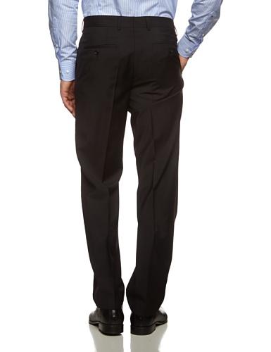 Tommy Hilfiger Tailored Herren Anzughose Brooks STSSLD99001 Schwarz (099)