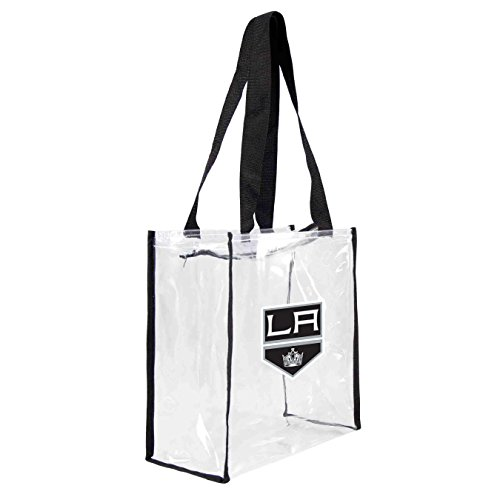 nhl-los-angeles-kings-square-stadium-tote-115-x-55-x-115-inch-clear-by-littlearth