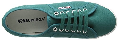 Superga  2950 Cotu,  Unisex Erwachsene Sneakers Green (Green Teal)