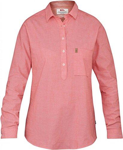 Fjällräven Damen Kiruna Shirt LS W Oberhemd, Hibiscus, L