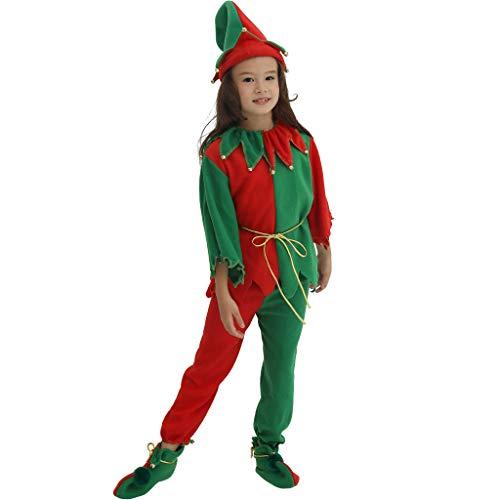 EraSpooky Weihnachtself Kinderkostüm Das ganze ()