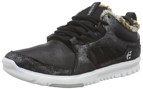 Etnies Scout Mt Wos, Sneakers Basses femme Gris (Black/Grey/White)