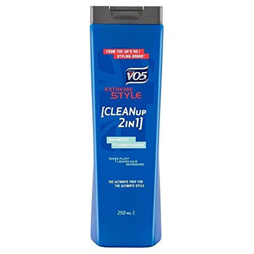 VO5 Shampoo & Conditioner 2in 1 - Clean Up (250 ml) - Packung mit 6