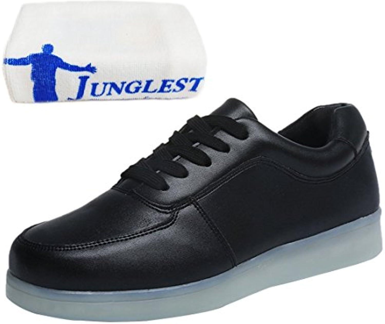(Presente:pequeña toalla)JUNGLEST USB Carga de la Zapatilla Zapatillas de Deporte Con 7 Colores de Iluminación...