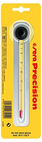 Sera 08902 Präzisionsthermometer, Hochpräzises Glasthermometer, Skala von 0-50 °C