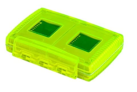 Gepe Card Safe Extreme In Neon - 4 Multi Card Compartments - 3862