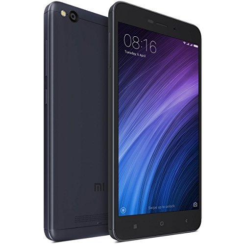 "Xiaomi Redmi 4A Smartphone 5"" 4G 32GB Doble Sim, Con Google Play [Version Europea] Gris"