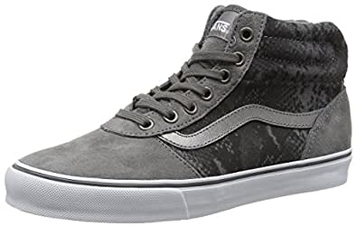 vans damen milton hi high top schuhe handtaschen. Black Bedroom Furniture Sets. Home Design Ideas