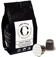 Für größere Ansicht Maus über das Bild ziehen CRU Kafe Nespresso Kompatible Kapseln Kaffee (Light Roast, 48)