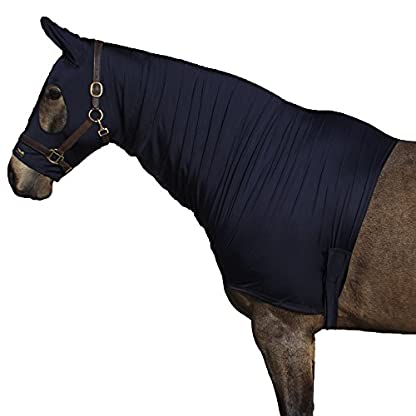 Snuggy Hoods Ltd Shiny Show Hood - Stretch Lycra Horse Hood - 3 Colours - 8 Sizes 1