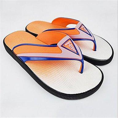 pantofole Infradito da uomo Pantofole & amp;Infradito Estate PVC casuale Tacco Altri Blu sandali US11 / EU44 / UK10 / CN46