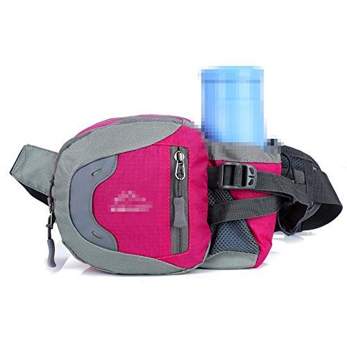 Sport Outdoor Wasser Flasche Taschen Reisen Reise Fitness Running Bag Männer Und Frauen Portable Portable Supplies rose red