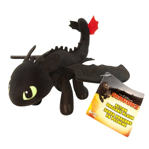 Dragon Trainer 2 - Deadly Toothless, peluche 20 cm