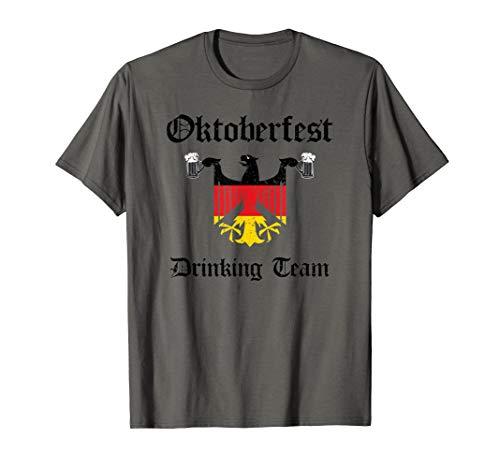 Offizielles Oktoberfest Drinking Team Grungy Distressed T-Shirt