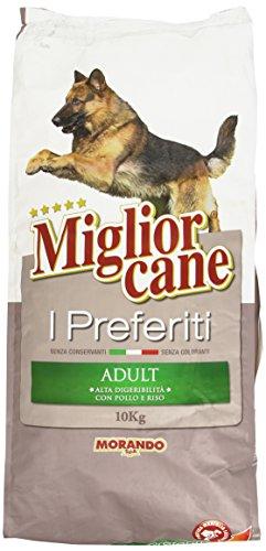 Miglior cane preferiti, alimento completo con pollo e riso per cani adulti - 10000 g