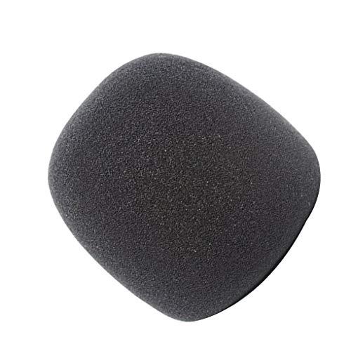 Kakiyi Ersatz für Blue Yeti/Pro-Kondensatormikrofon Stretchy PU-Schwamm Abdeckung Pop Filter Windschutzscheibe - Pop-filter Ersatz