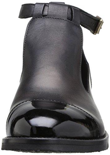 Jonak 225-2401, Damen Kurzschaft Schlupfstiefel Schwarz (Noir (Cuir/Vernis Noir))