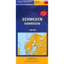 Polyglott Reisekarten, Schweden