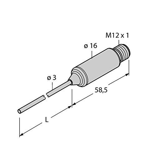 9910658-gtl-203a-CF liupn TTMS-L150h1140, détection Température Inox Transmetteur