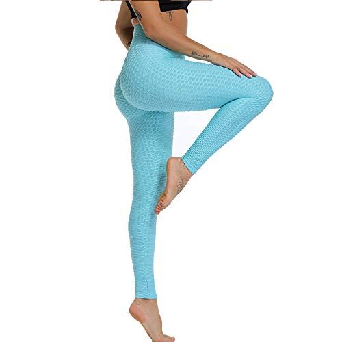 Leggings da Donna Aderenti a Compressione Anti Cellulite, Slim Fit Butt Lift Elastic Sports Pants, Pantaloni Elasticizzati a Compressione da Donna, con Punta Affusolata e Anti-Cellulite