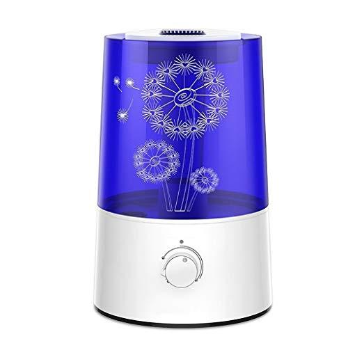 AD Luftbefeuchter Haushaltsstummschlafzimmer Reinigungsluftspray Der Großen Kapazität Kleiner Klimaanlagennebelbefeuchter (Color : White) -