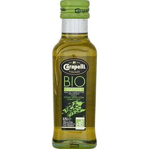 carapelli Huile d'olive vierge extra extraite à froid bio ( Prix unitaire ) - Envoi Rapide Et Soignée
