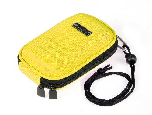 Easypix Pop-Box Pochette en nylon pour Appareil photo et portable Jaune