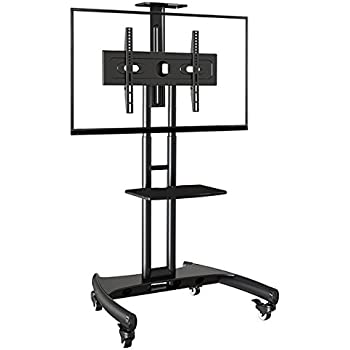 Buy Rife Mobile Tv Trolley Stand With Mount For Led Lcd
