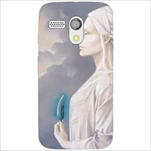 Motorola Moto G Back Cover - Pretty Designer Cases