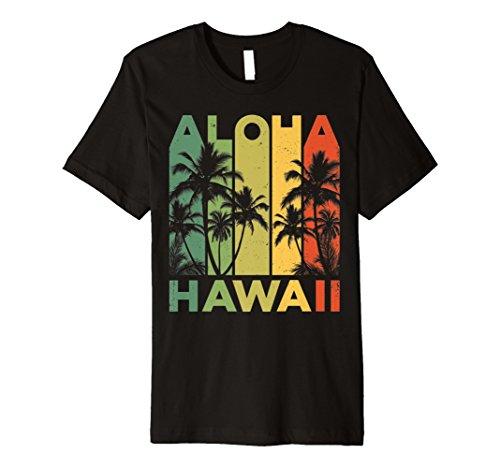 Vintage Hawaii-Inseln Tee Hawaii Aloha State T-Shirt