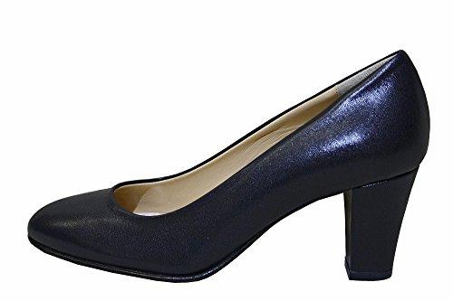 Lady Raffy Pumps aus Lackleder, Blau - blau - Größe: 41 (Blu-leder-pumps)