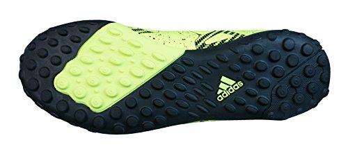 adidas Performance X15.4 TF Jungen Fußballschuhe Lima / Negro