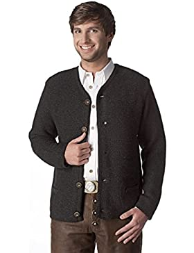 Stockerpoint Herren Strickjacke anthrazit Magnus