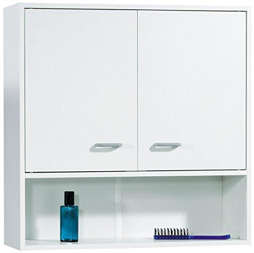Fackelmann Hängeschrank 65 cm weiß matt weiß matt Bad Programm: Standard