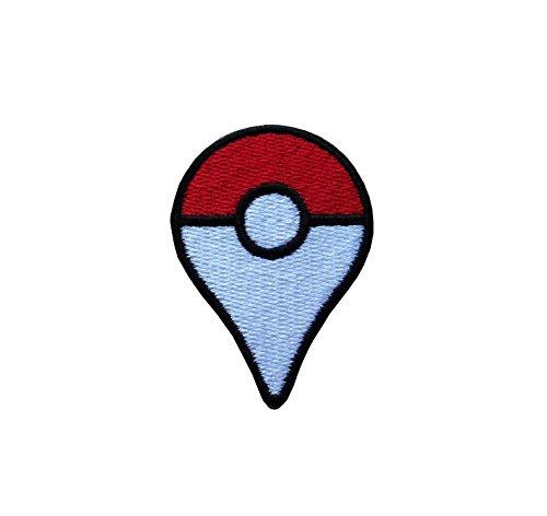Preisvergleich Produktbild Pokemon Plus Pokeball bestickt Tuch Eisen auf Patch