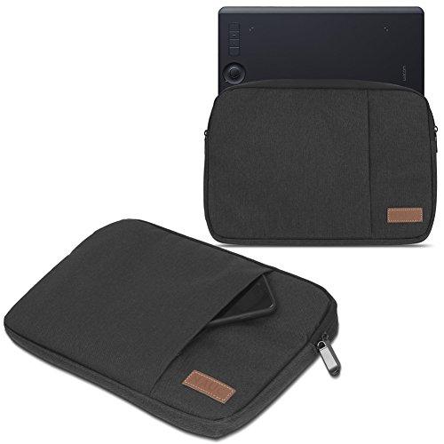 Wacom Intuos Pro S M Hülle Tasche Grafiktablett Schutzhülle Schwarz / Grau Case, Farbe:Schwarz, Tablet Modell für:Wacom Intuos Pro S